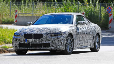 BMW 4-series spy (2019) - front