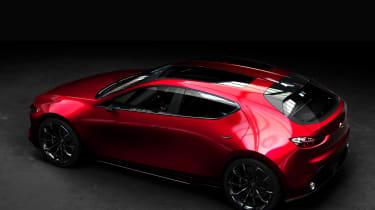 Mazda Kai Concept – top side