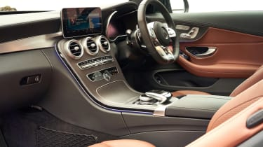 Mercedes-AMG C43 Coupe 2018 review - interior