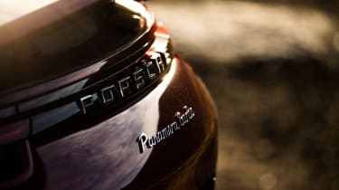Porsche Panamera Turbo - Badge