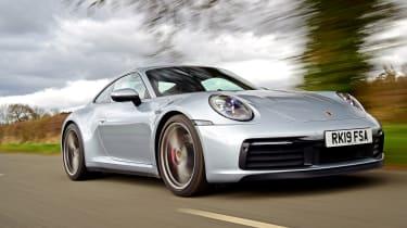 Porsche 911 Carrera S GT silver front
