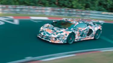 Lamborghini Aventador SV Jota - front quarter
