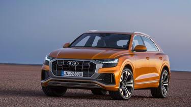 Audi Q8 TDI - front static
