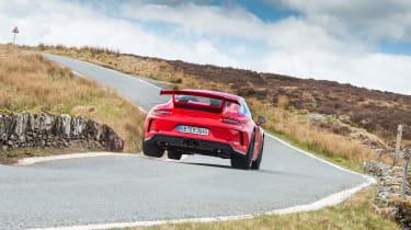 Porsche 911 GT3 991.2 – rear JUMP