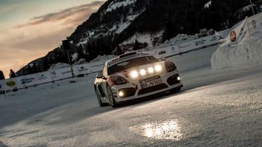 Porsche Cayman GT4 Rallye - front