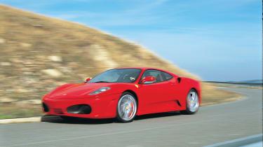 Ferrari F430 - front tracking