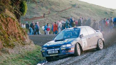 WRX STI WRC car
