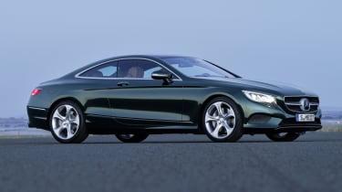 Mercedes S-Class Coupe front quarter