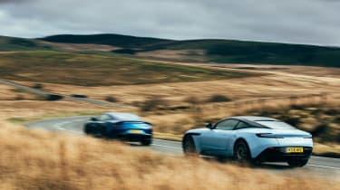 Aston Martin DB11 & Vanquish S - rear