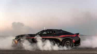 Hennessey Camaro - smoke