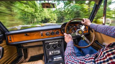 1966 Ferrari 330 GTC - interior driving