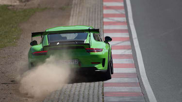 Manthey Racing Porsche 911 GT3 RS Nurburgring