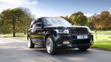 New Overfinch Range Rover driving