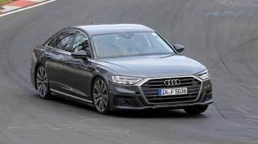 Audi S8 prototype - turning