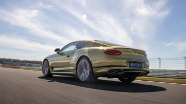 Bentley Continental GT Speed UK – rear low tracking