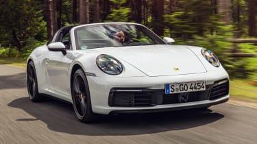 Porsche 911 Targa 4S nose