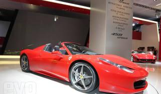 Ferrari at Frankfurt