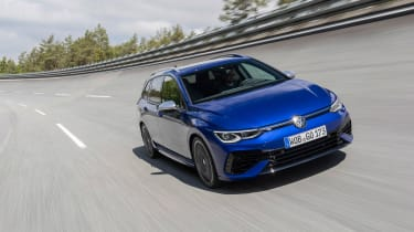 Mk8 Volkswagen Golf R – front tracking
