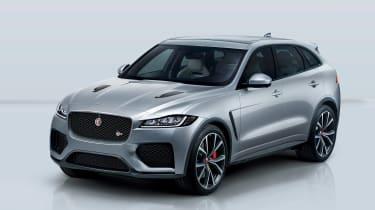 Jaguar F-Pace SVR - front quarter