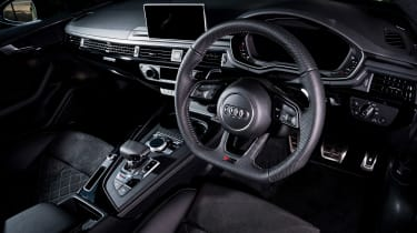 Audi RS5 Sportback review - dash