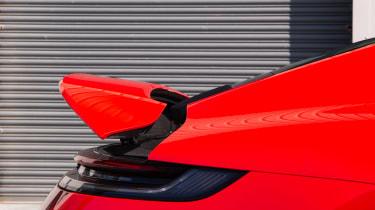 Porsche 911 Carrera S track wing