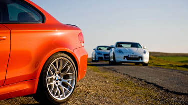 BMW 1 M Coupe static