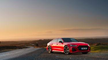 Audi RS7 red - quarter