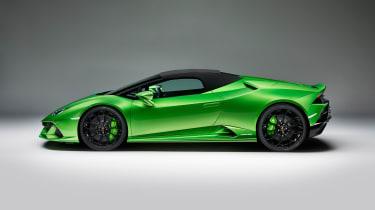 Lamborghini Huracan Evo Spyder - side