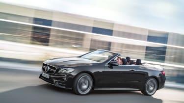 Mercedes-AMG E53 – cabriolet front quarter