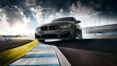 BMW M3 CS  – sliding