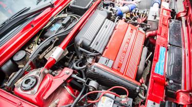Jay Kay Lancia Delta Integrale - engine