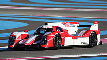 Toyota makes a return to Le Mans