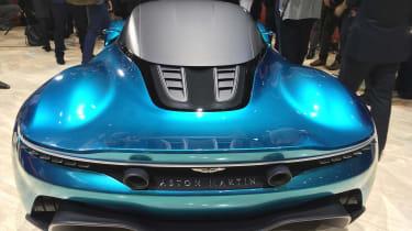 Aston Martin Vanquish Vision concept live - rear