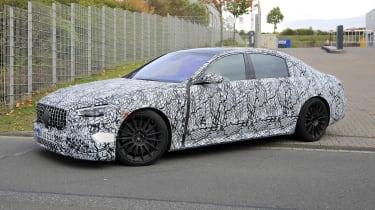 Mercedes-AMG S63 2021 spy quarter