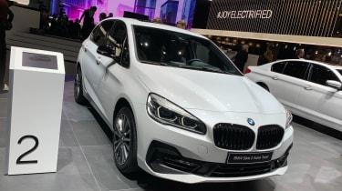 BMW hybrids Geneva motor show