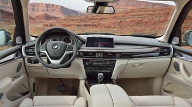 New 2013 BMW X5 interior dashboard
