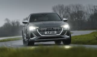 Audi e-tron S Sportback - cornering header