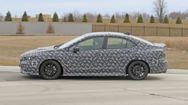 2021 Subaru WRX spied - side