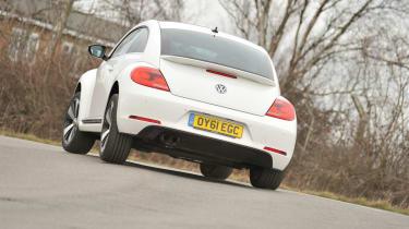 Volkswagen Beetle 1.4 TSI Sport rear cornering