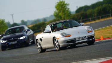 evo Trackday Bedford 27AUG - Porsche Boxster