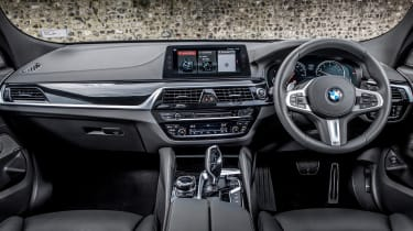 BMW 6-series GT 640i - interior