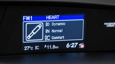 Honda Civic Tourer ADS adaptive damper system