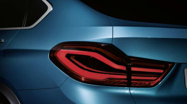 2014 BMW X4 Concept taillamps