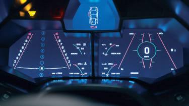 Lamborghini Reventon dashboard display