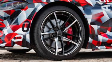 Toyota Supra proto drive - wheels
