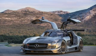 Mercedes-Benz SLS GT3 45th anniversary model