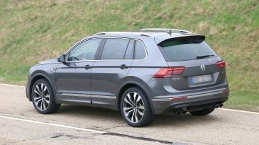 Volkswagen Tiguan R spy - rear quarter
