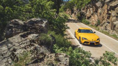 Toyota Supra scenic