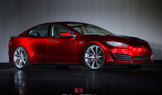 Performance specialist Saleen tweaks Tesla Model S