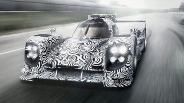 Porsche LMP1 Le Mans car disguise